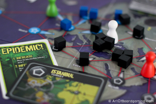 Introduce your non-gamer friends to collaborative gaming with this classic from z-man: Pandemic.