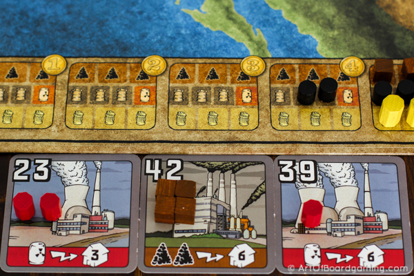 Power Grid Review - 3 power plants