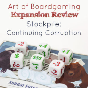 AoB Expansion Review: Stockpile Continuing Corruption