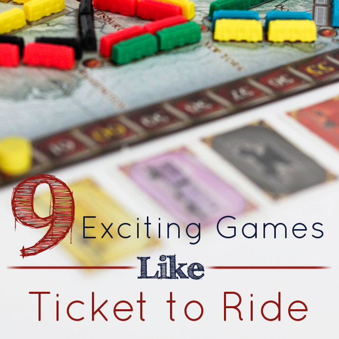Games Like Ticket to Ride