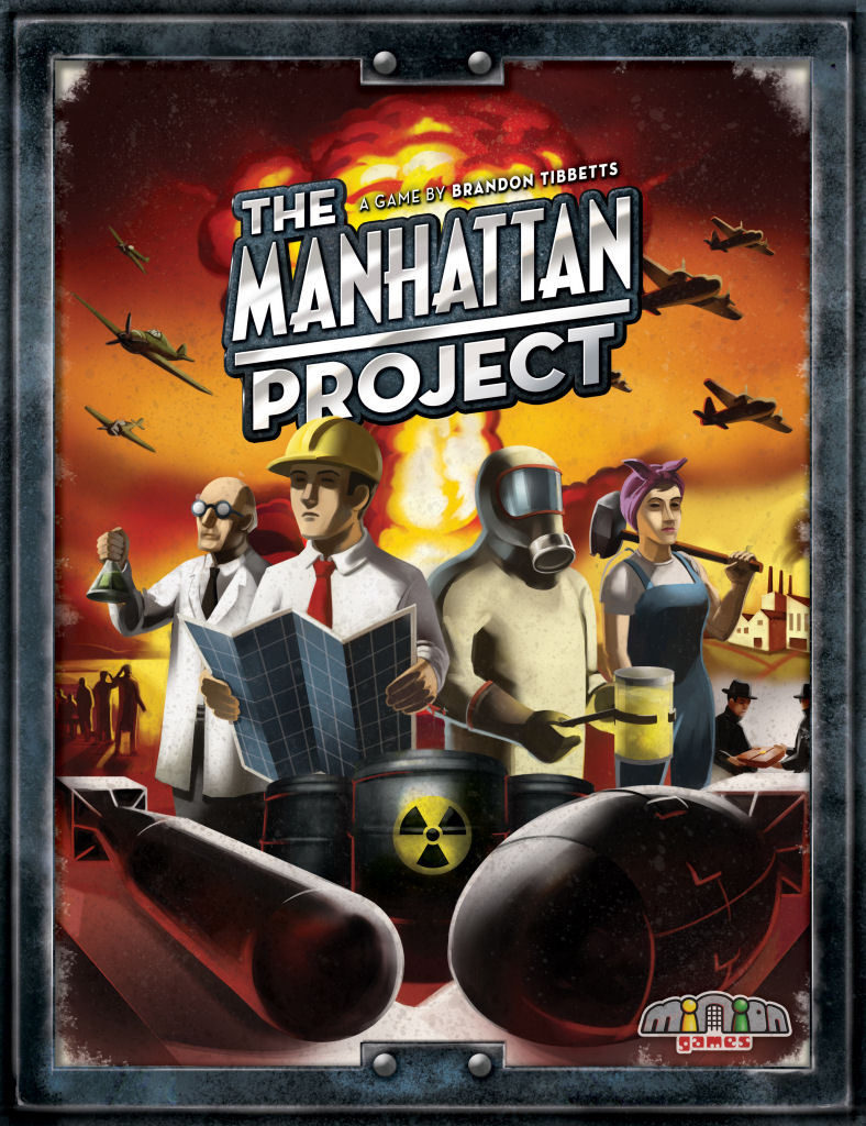 The Manhattan Project Review - Box Front