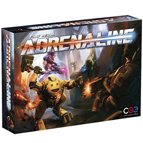 Adrenaline Review - Game Box