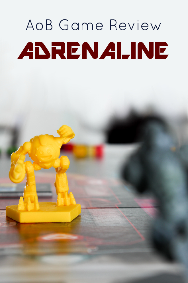 "This game is great. I never thought you'd be able to get me into any sort of an ""FPS"" board game but this one really does it for me! Check out this fantastic Adrenaline Review by Art of Boardgaming."