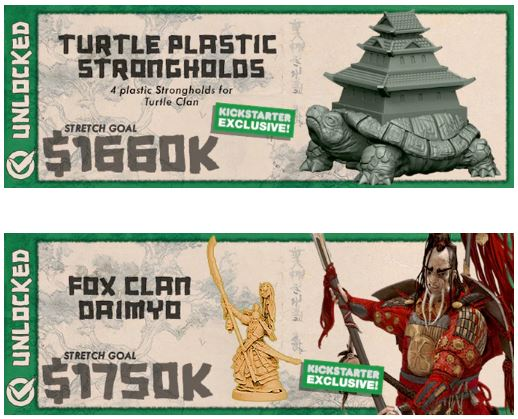 Exclusives. Kickstarter Board Games and their creators like to fire up the collector side of your brain with Kickstarter exclusives!