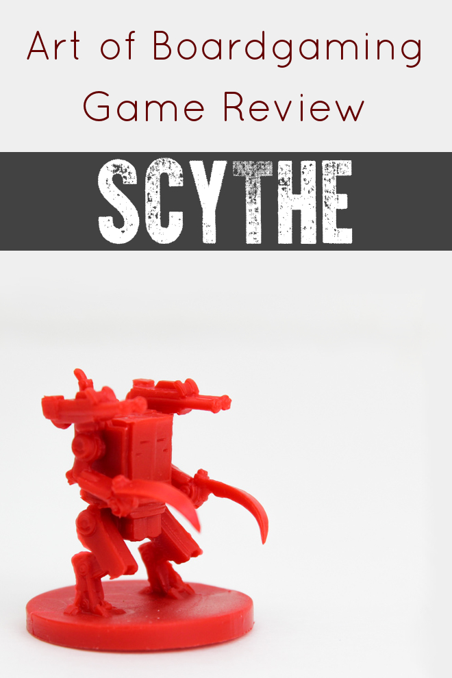 This is pretty much the only Scythe Review that you need to read. This board game has it all: Mechs, Combat, Resource Mangement, Tension, Achievements, Action Selection, GREAT artwork. What's not to love?!