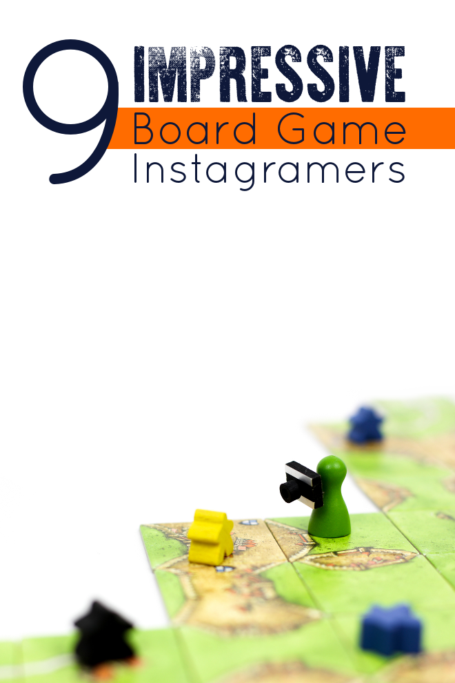 I pretty much am only on Instagram for the board games. These 9 Board Game Instagram Accounts are my absolute favorites... and soon they'll be yours too.