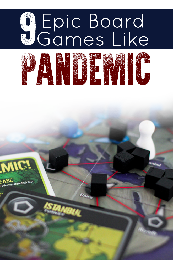 Picked up Pandemic from target and absolutely LOVED it. But when I wanted to try to find some more games like pandemic I wasn't sure what was out there. This list of games like Pandemic was a great start!