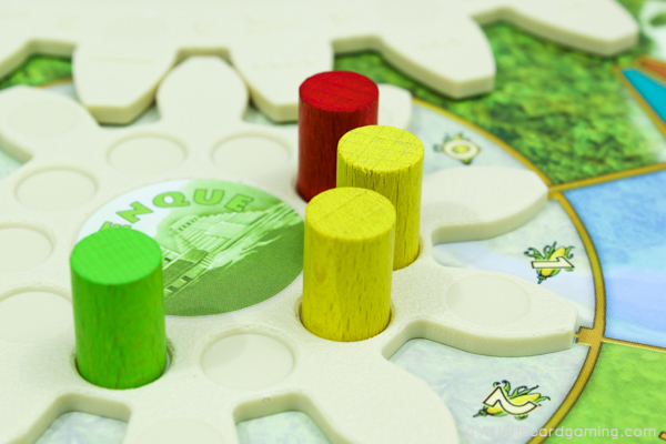 3 player Tzolkin game with Workers Placed