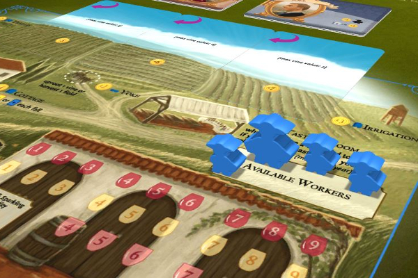 Viticulture on Tabletopia - Worker Pool