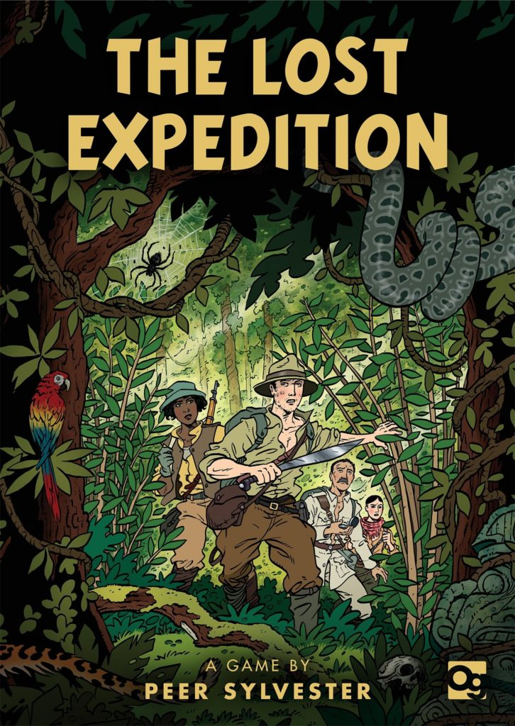 Board Game Wishlist number 7 - The Lost Expedition
