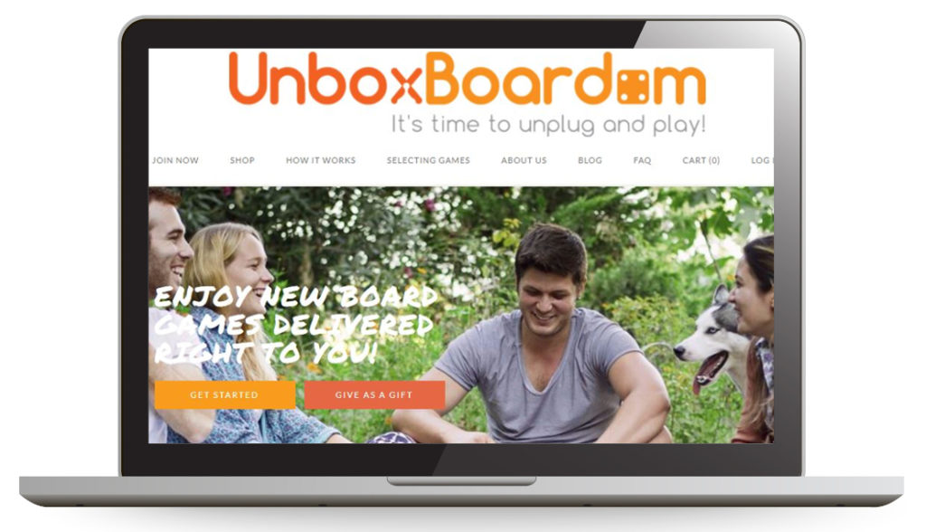 UnboxBoardom, your board game gift HQ