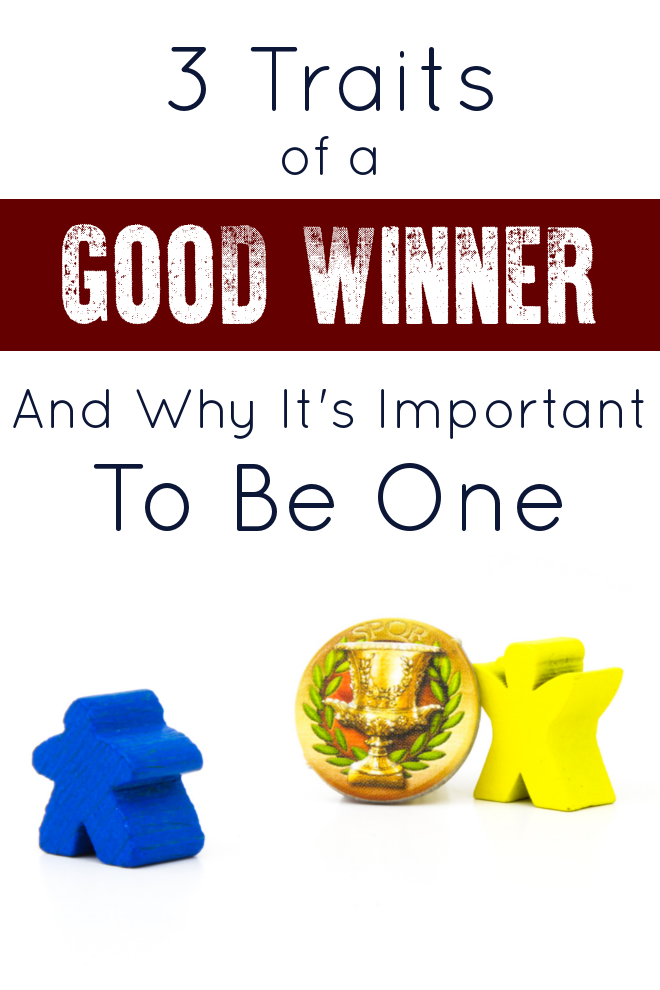 Everybody knows what a sore loser looks like, but I tend to think that often times that the ugly attitudes of sore winners get left un-discussed. Well no more! This post dives into 3 excellent traits of a good winner, and why it's so important to be one!