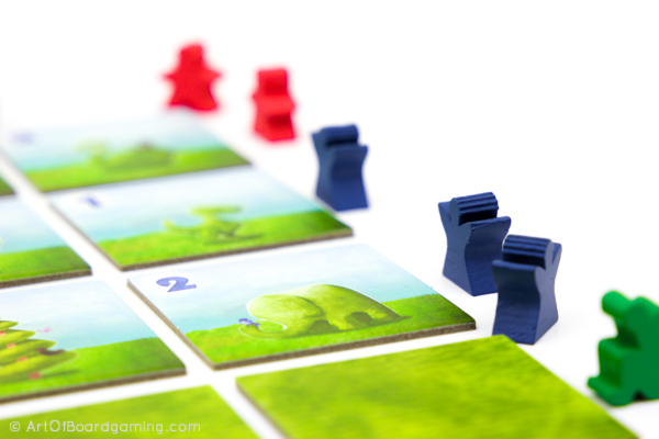 Topiary Review - Cool Meeples around the tiles
