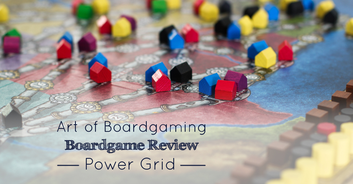 Power Grid Review | by Art of Boardgaming image