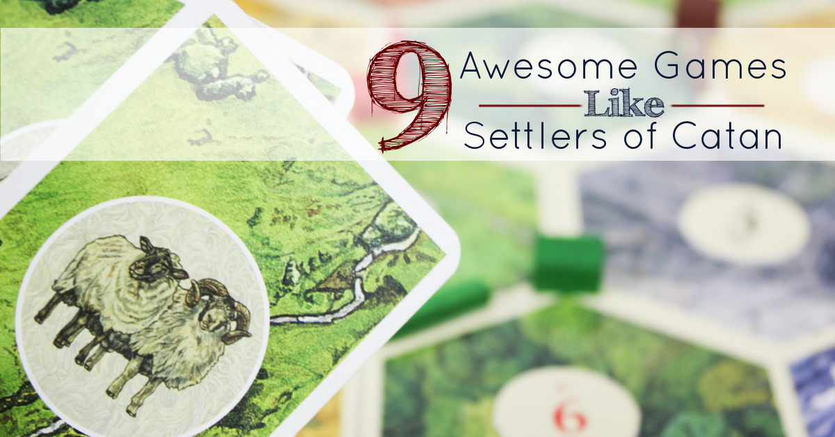 10 Games Fans Of Settlers of Catan Should Try | TheGamer